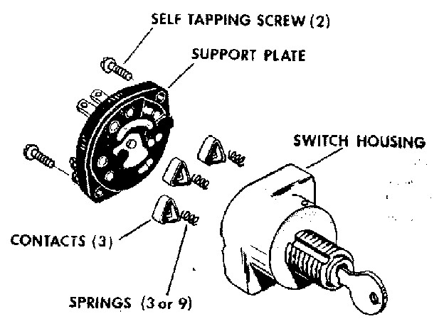 ignition switch 0842028 gallery image 3