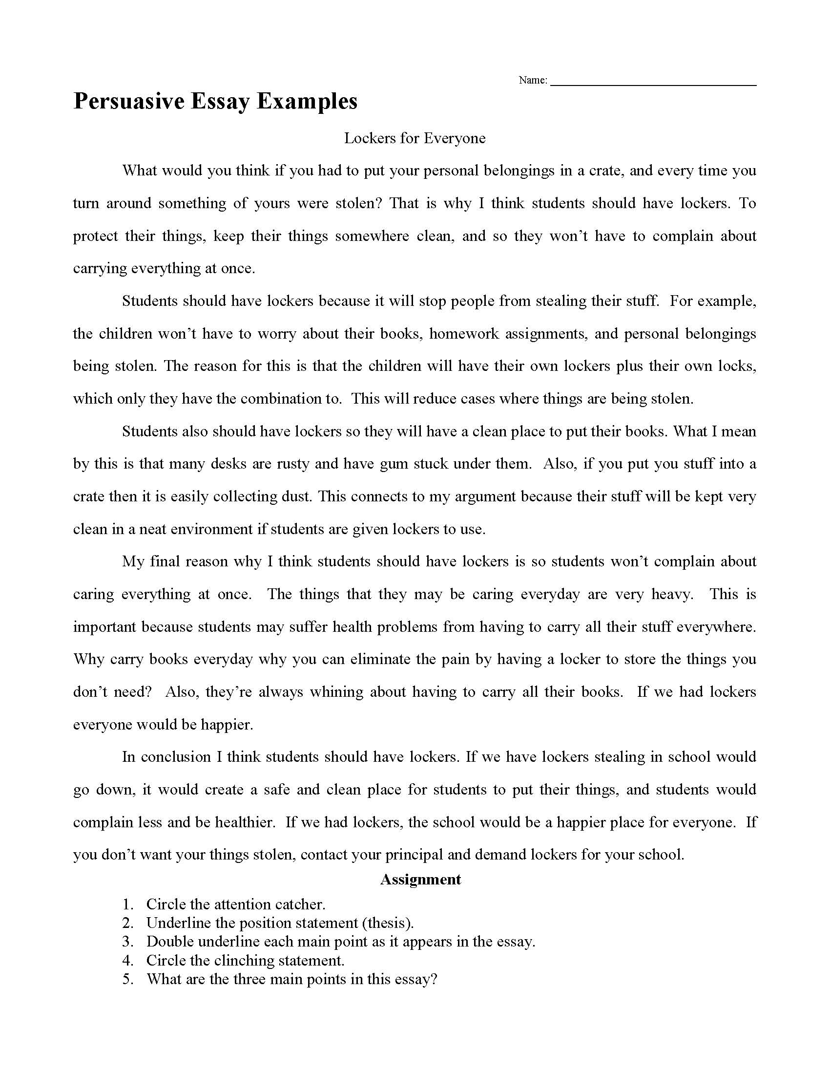 persuasion papers