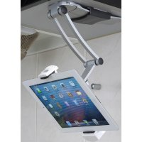 Under Cabinet Tablet Mount - Table Ideas