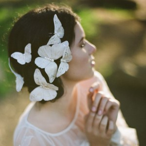 MADAME BUTTERFLY HAIR PINS