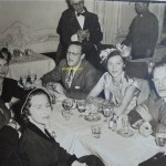 Eric Berne at dinner, location and date unknown