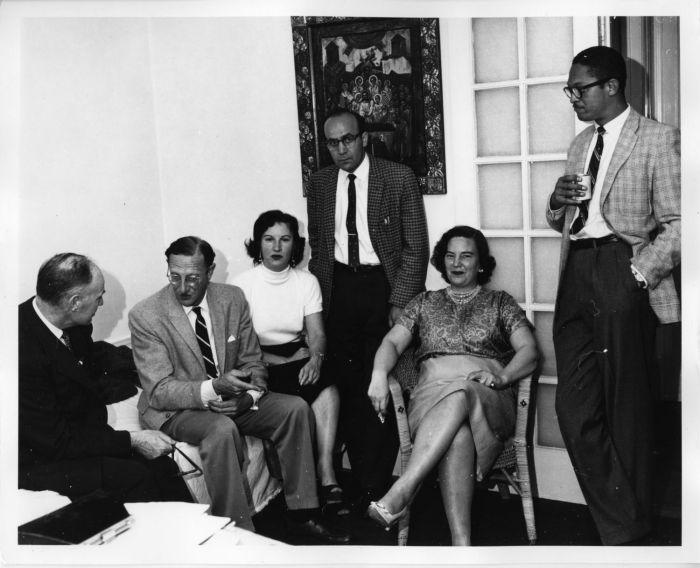Eric Berne photo at Washington Street Seminar 1958