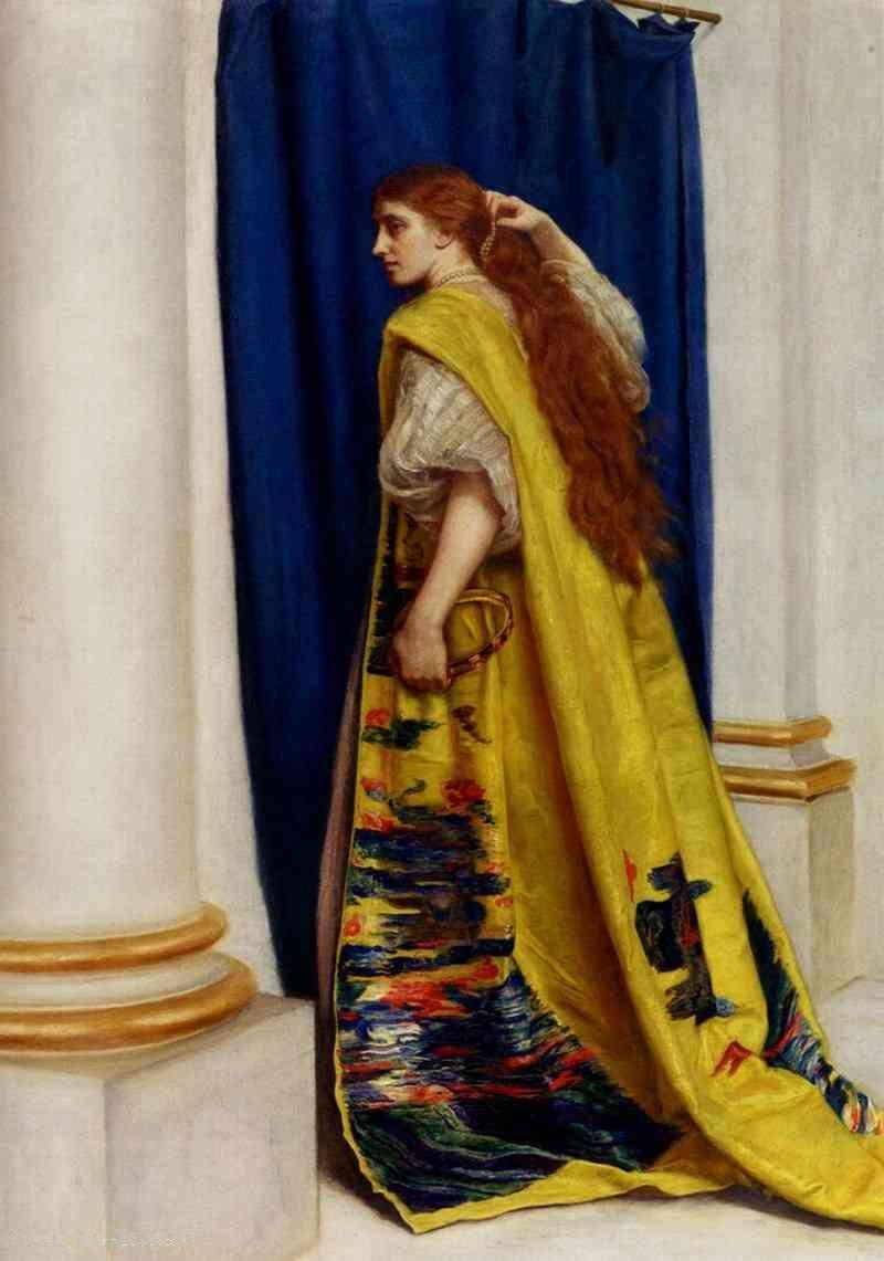 """""""Esther"""" by John Everett Millais"""