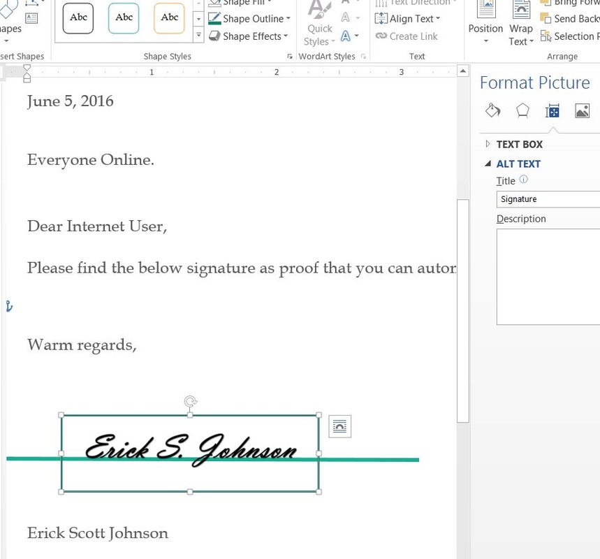 How to Add a Signature Image to a Word Document with PowerShell