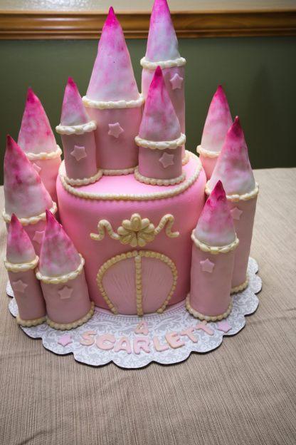 Rapunzel Castle Cake