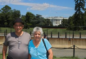 Grand Parents at the White House