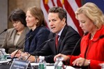 WASHINGTON - NOVEMBER 18:  Treasury Secretary ...