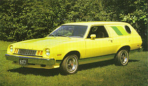 1977 Ford Pinto Cruising Wagon