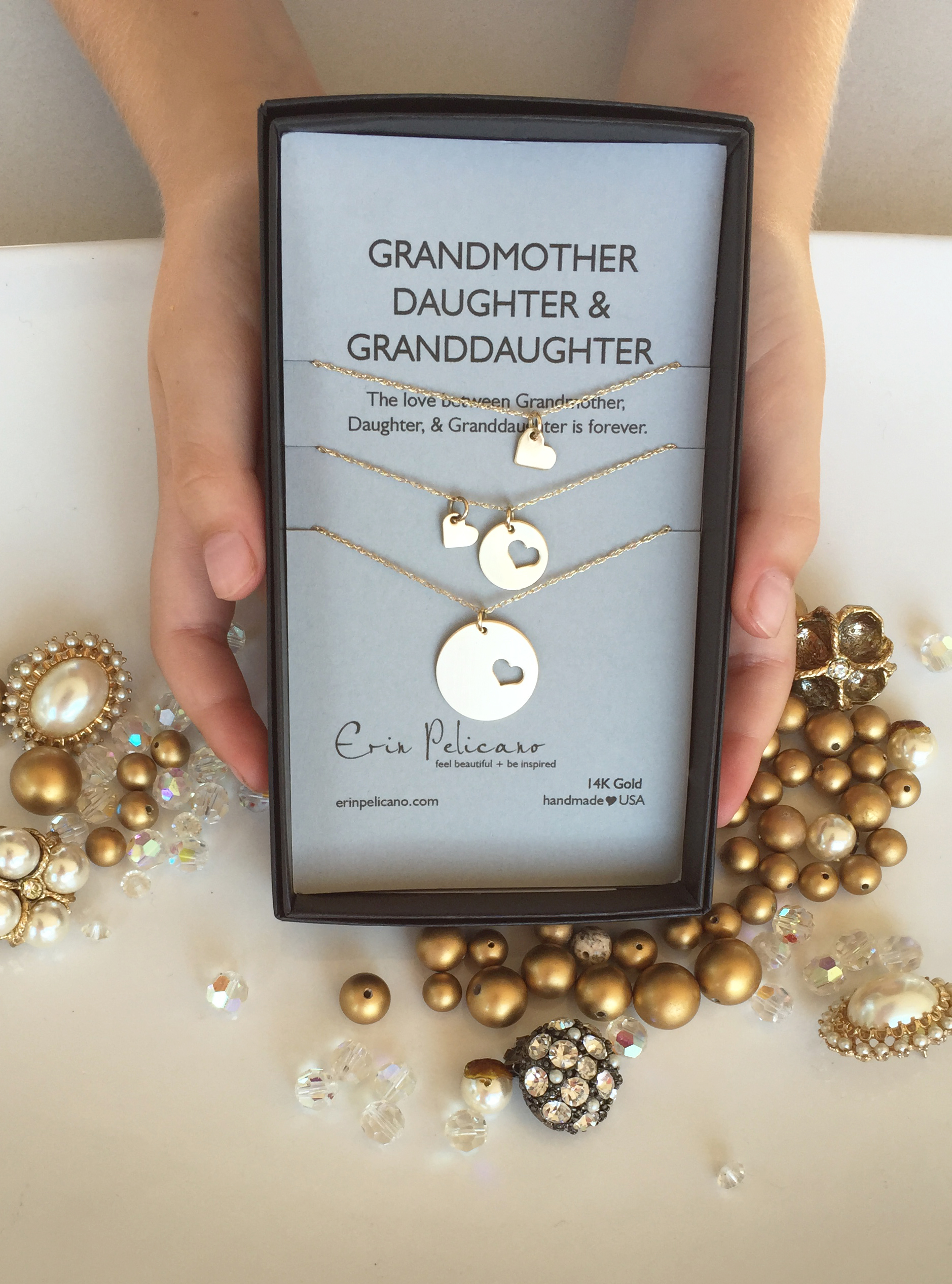 Majestic G Mor Mor Mor Daughter Generationsjewelry G Mor Daughter Necklace Set Erin Pelicano Gifts Ma From Children Ma Amazon Gifts gifts Gifts For Grandma