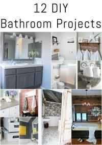 12 DIY Bathroom Projects - Erin Spain