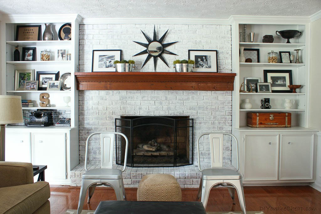 Fireplace Makeover Erin Spain