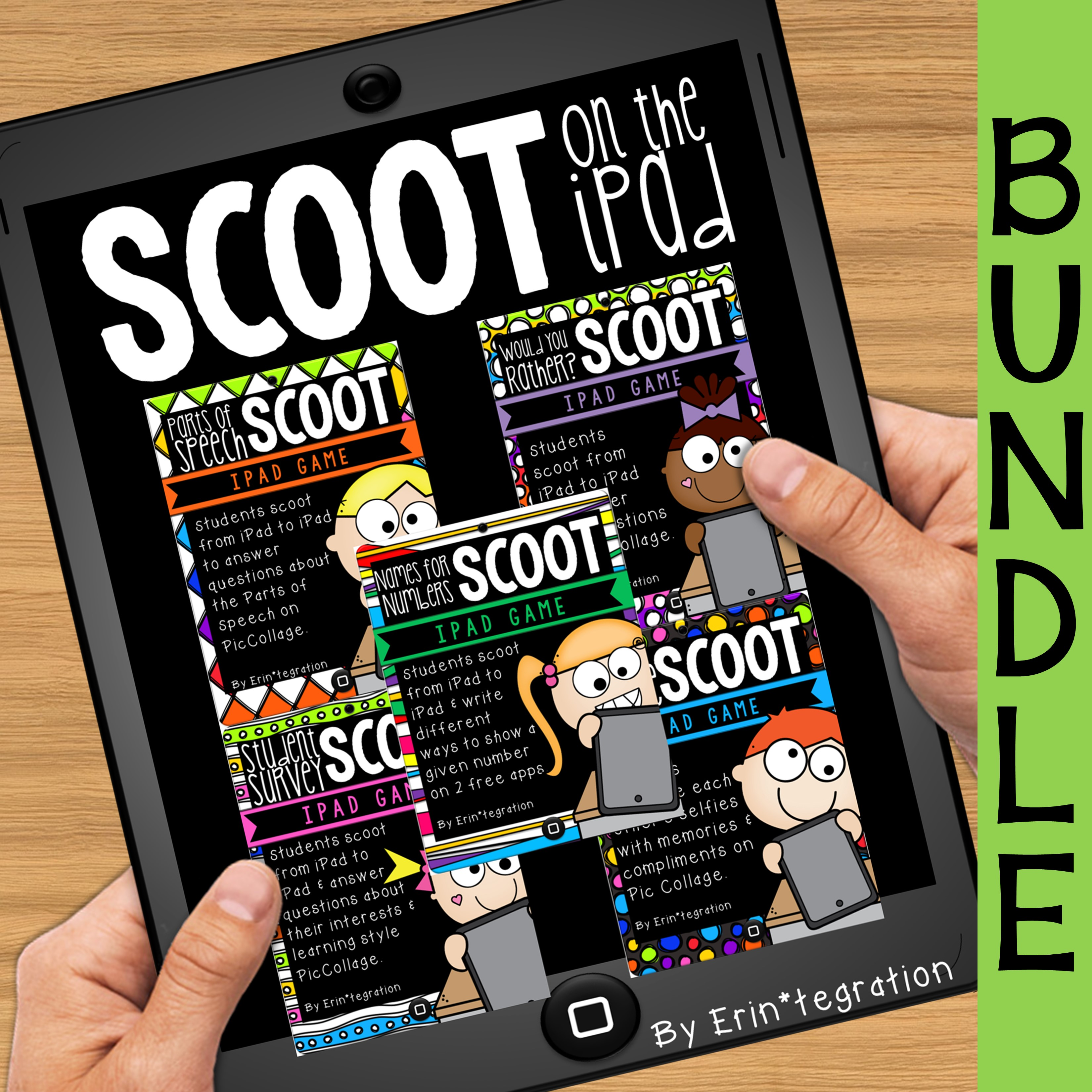 Scoot on the iPad Games