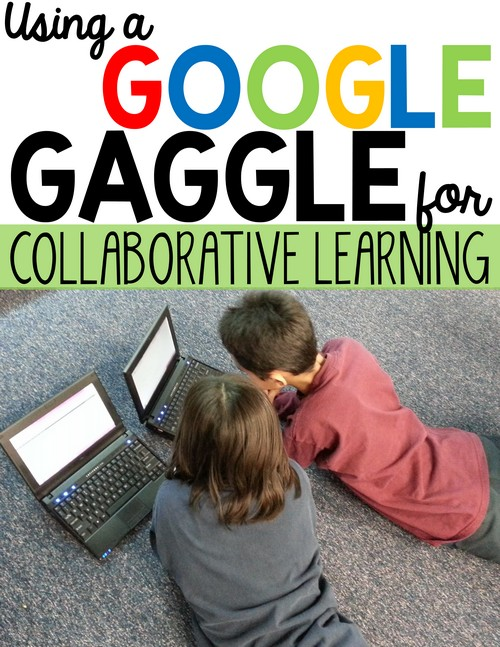 Collaborative Learning on Google gets even better with the Google Gaggle! Elementary students sometimes need help when using Google Apps #GAFE. See how this collaborative learning strategy transformed my classroom, reduced passive screen time, and increased engagement & productivity.