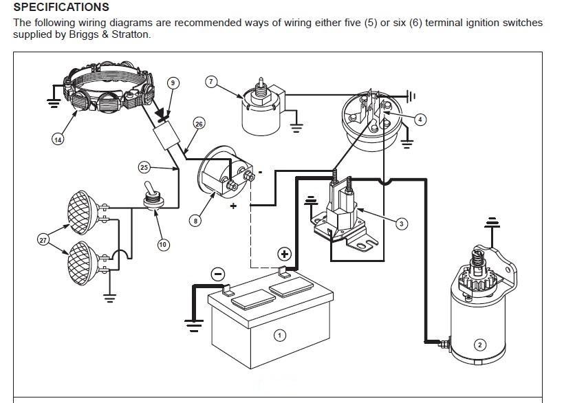 briggs magneto wiring diagram