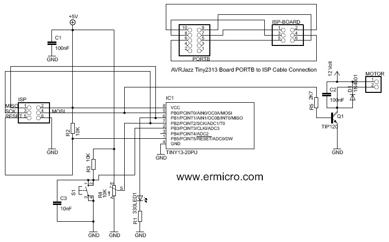 controlling dc motors using avr microcontrollers vishnu39s blogs