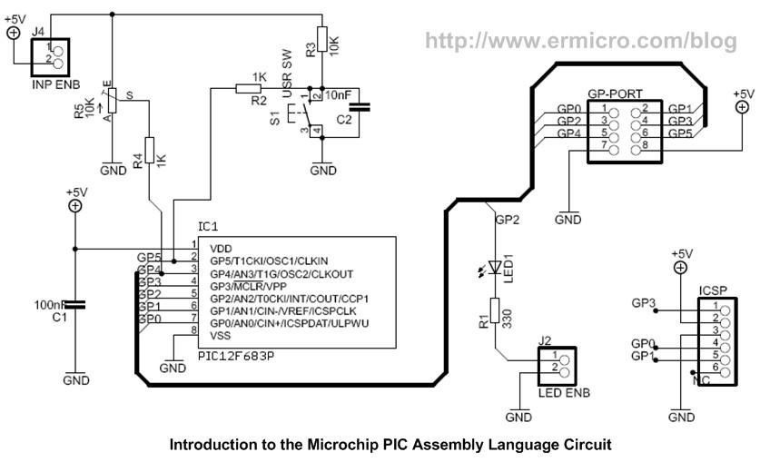 Introduction to Microchip PIC Assembler Language \u2013 Part 1 ermicroblog