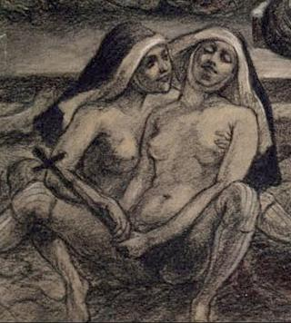 satanic demon art