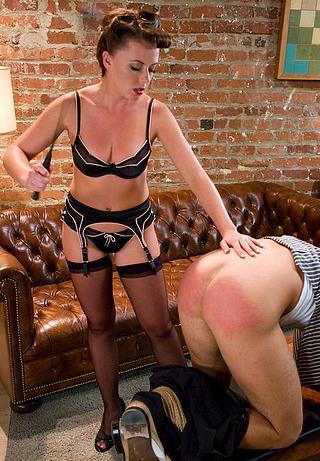 naughty husband spanked