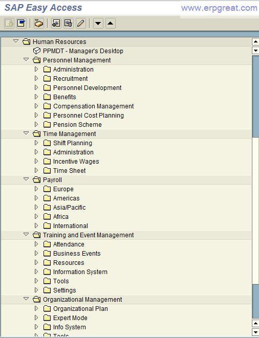 SAP HR Module SAP Human Resource Overview