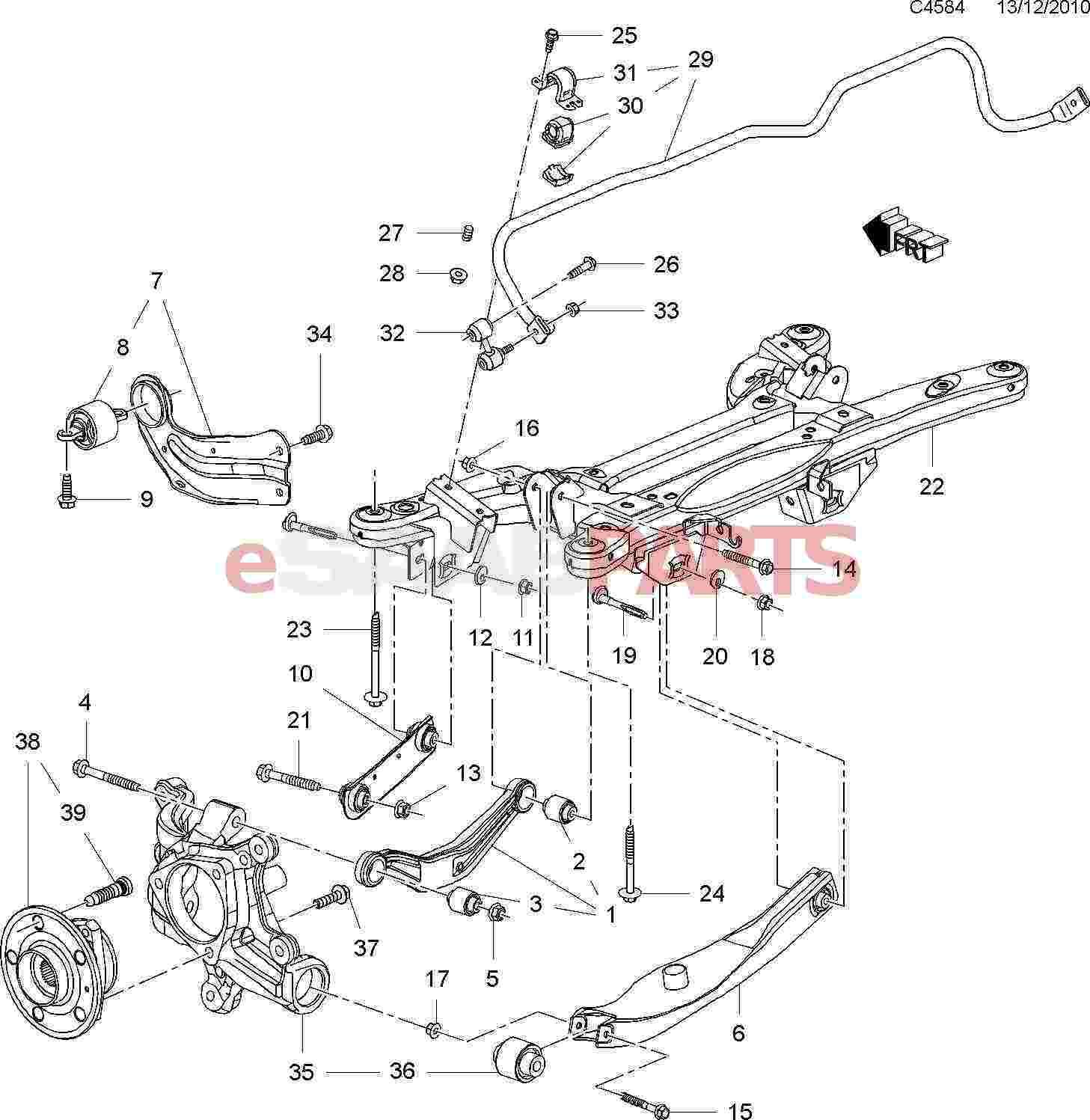 saab 9 5 engine bay diagram