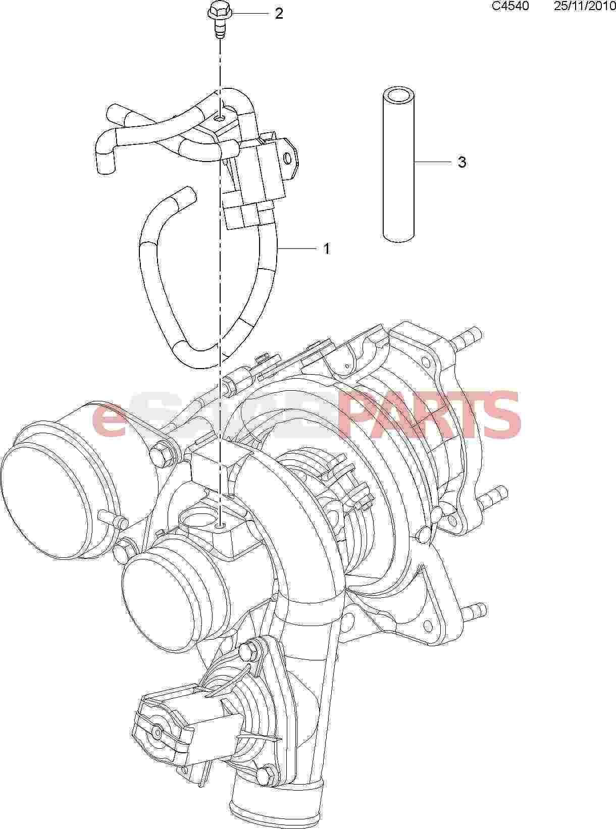 saab turbo control valve