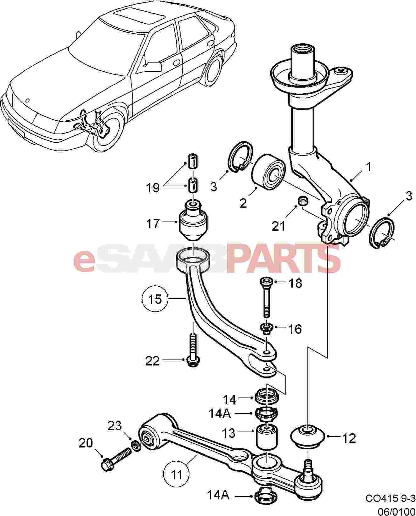 saab 900 ignition wiring diagram free picture