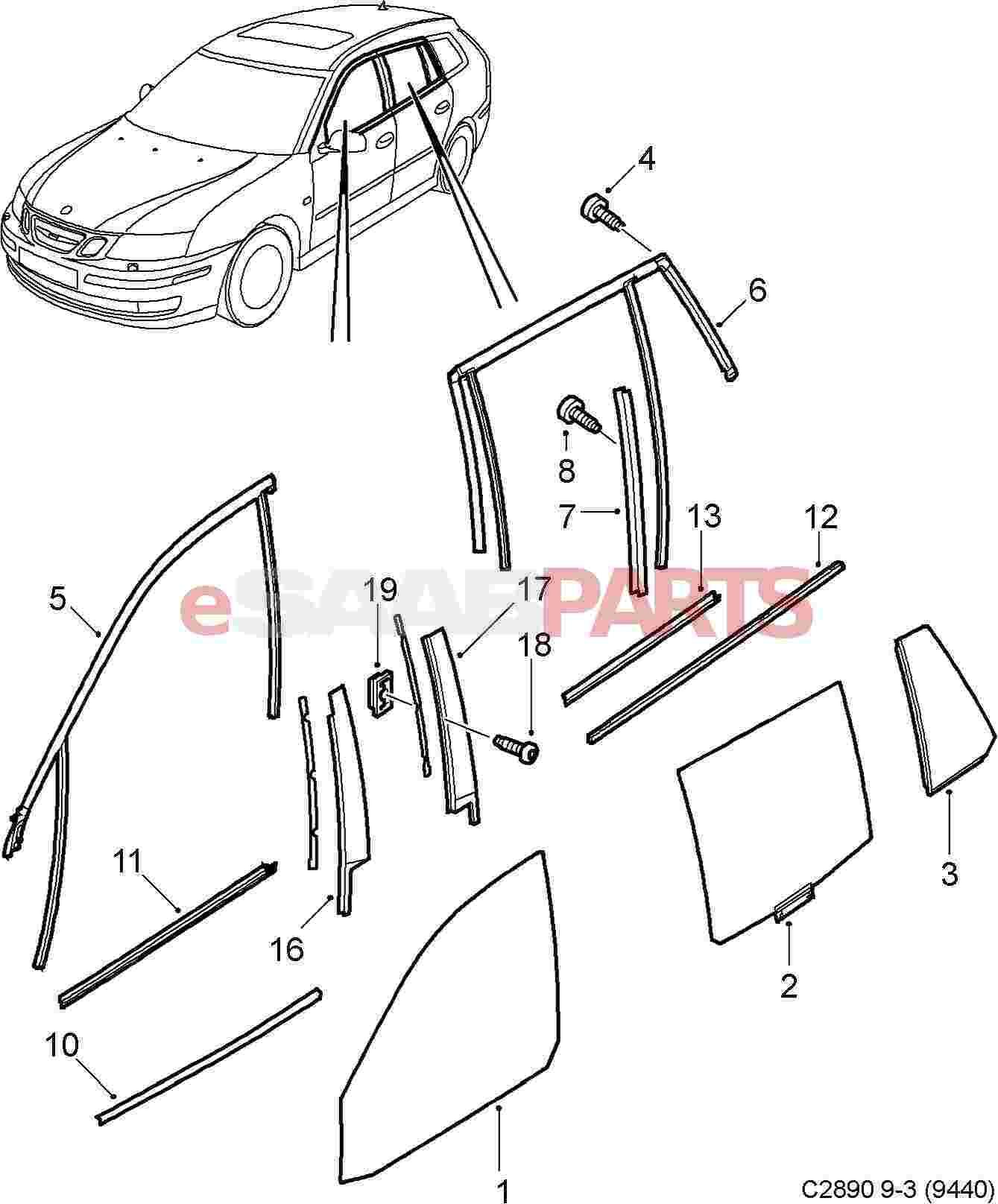 car diagram exterior parts names engine car parts and component