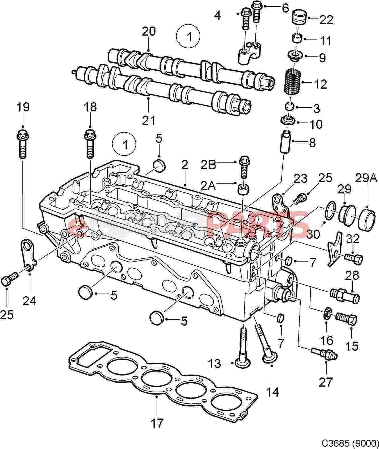 saab engine temperature sensor
