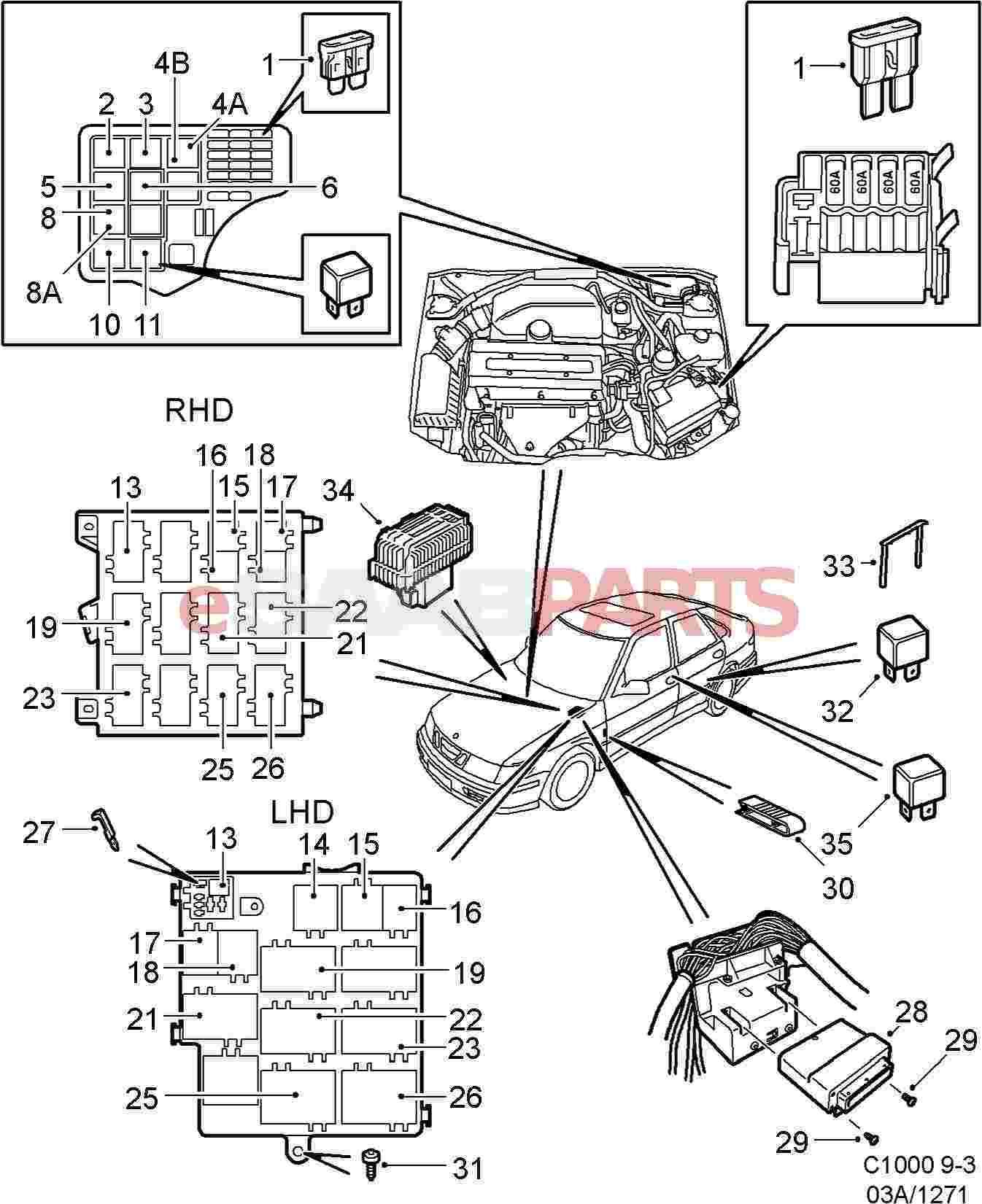 saab 9 3 stereo wiring diagram also saab 9 3 fuse box diagram on saab