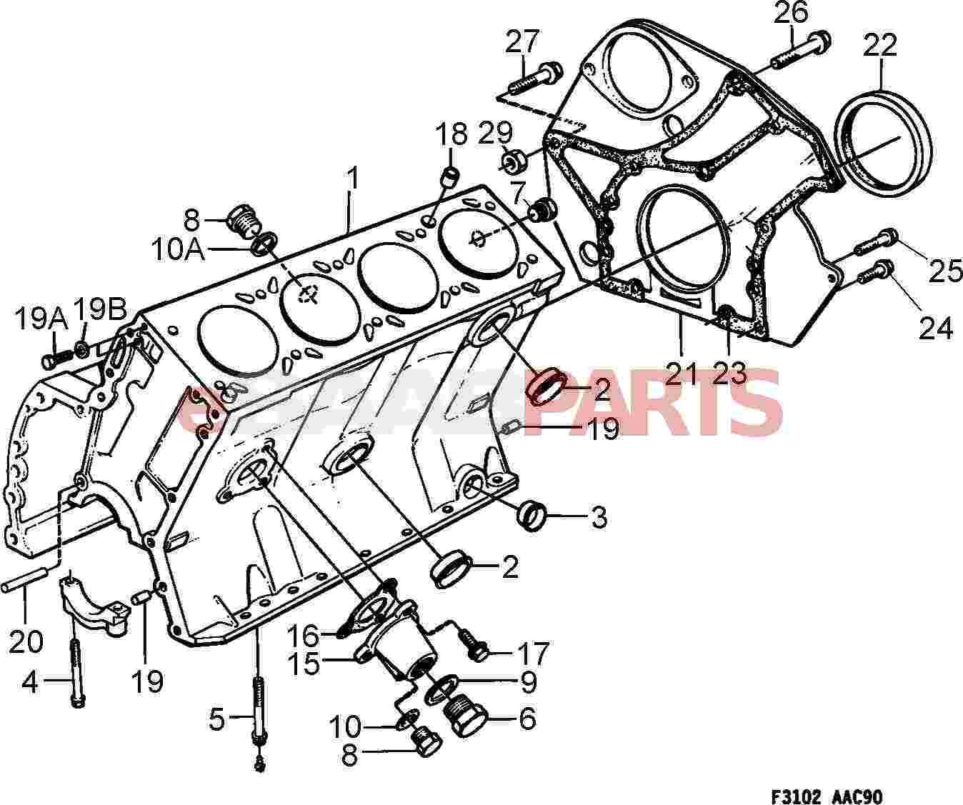 96 saab 900 engine diagram