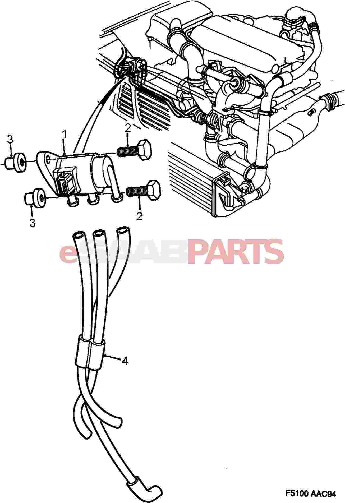7485576 saab boost pressure control valve genuine saab parts from