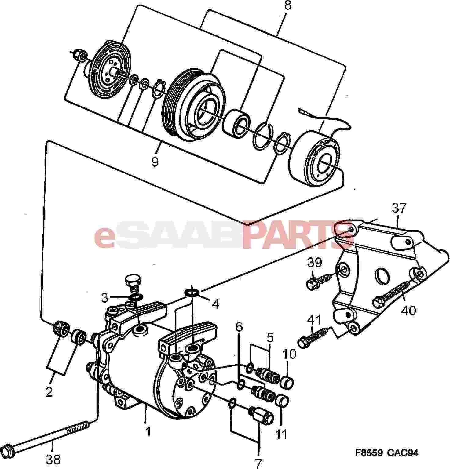 1994 ford aerostar ac wiring