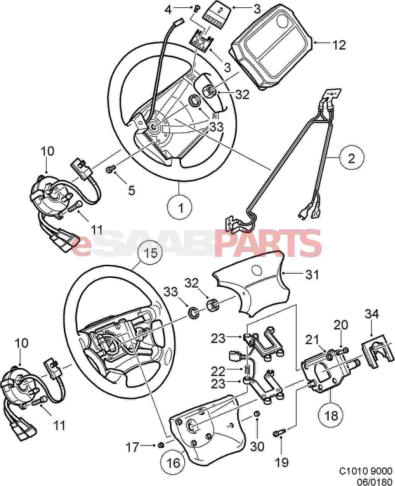 saab ke vacuum pump diagram
