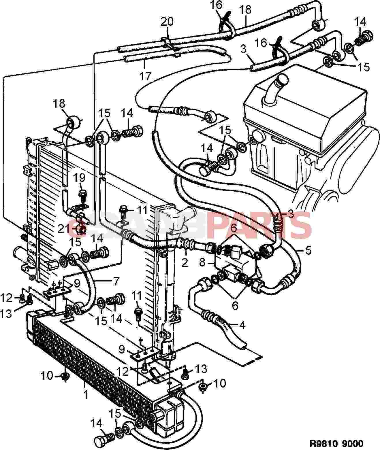 saab 9 3 radiator diagram saab engine image for user manual