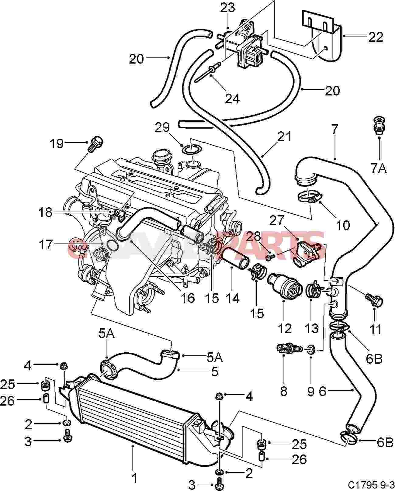a072umys saab 95 engine diagram