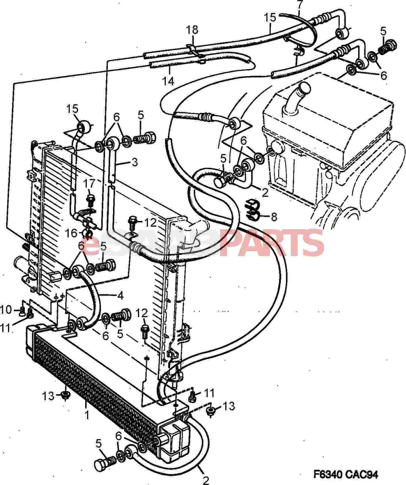 saab transmission diagrams