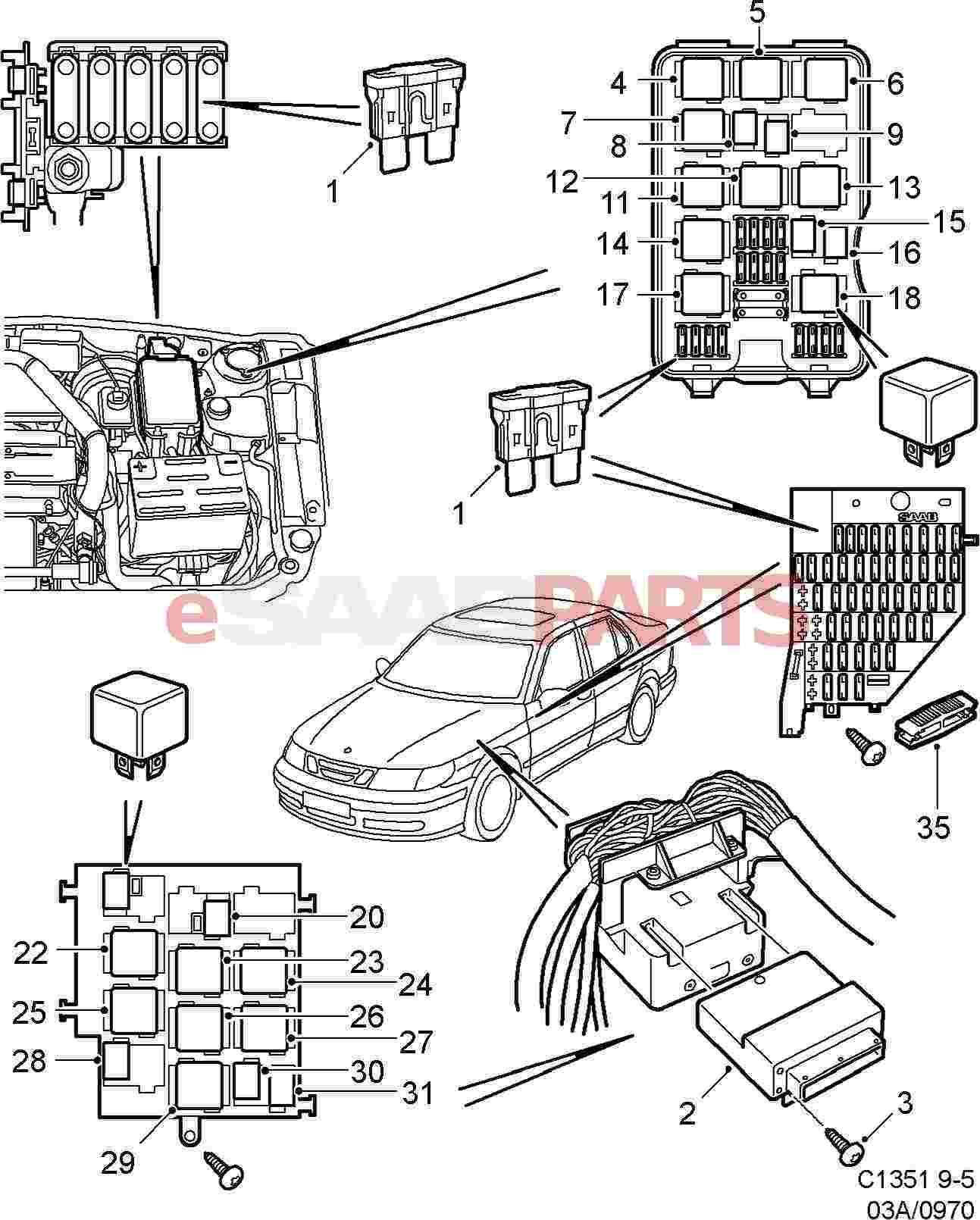 1999 subaru legacy starter wiring