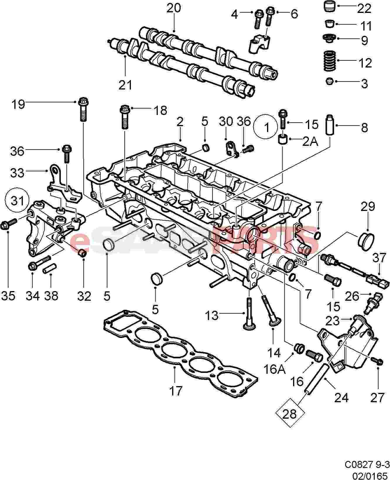 jetta fuse box diagram additionally saab 9 3 aero 1999 2001 saab 9 3