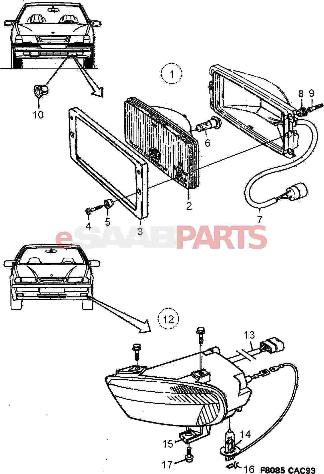saab fuse box wiring diagrams pictures wiring
