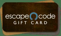 Order an Escape Code gift card!