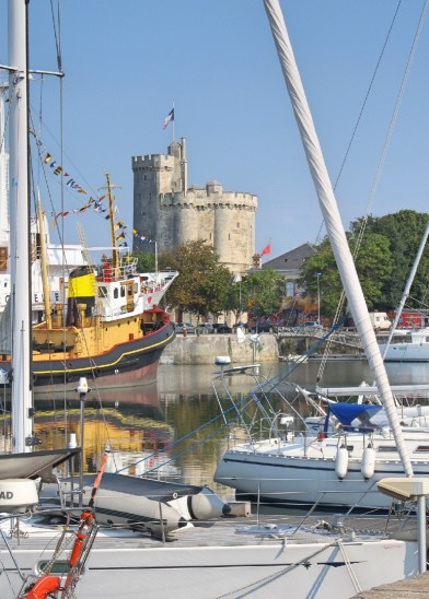 La Rochelle - Old port and Tour Saint-Nicolas
