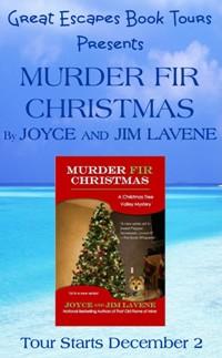 murder fir christmas small banner