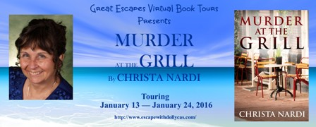 MURDER AT THE GRILL large banner448