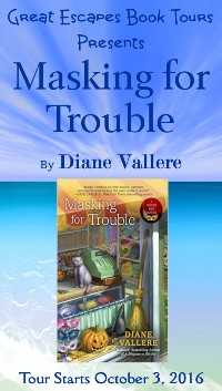MASKING FOR TROUBLE small banner