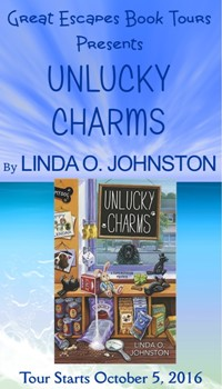 UNLUCKY CHARMS small banner