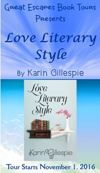 love literary style small banner
