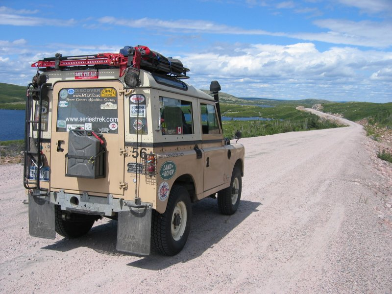 Jeeping it to Labrador