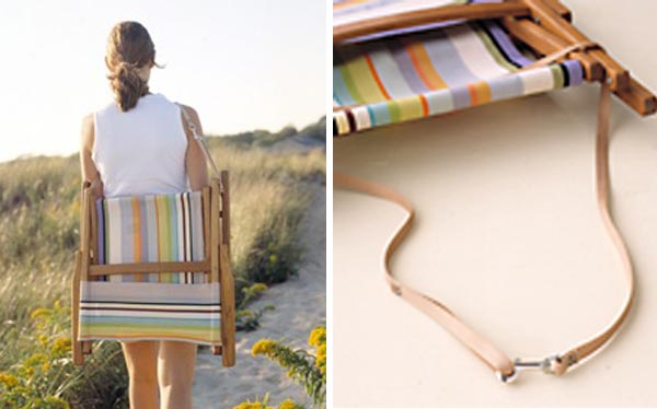 bolso-reposera reposera Pinterest Argentina, Pallets and Towels - sillas de playa