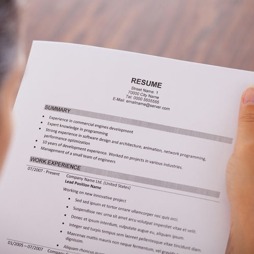 Resume Writing Tips For Culinary Students - Escoffier