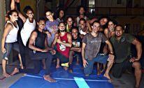Oficina com o artista e educador circense Paulo Líbano, da Aerocircus